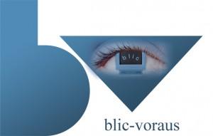 Logo blic-voraus für social-media