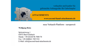 Visitenkarte second-hand-attachments