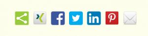 Social-Media-Button-Leiste